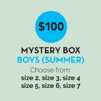 27aacdef00 $100 Mystery Pack Boys Summer 2-7 (Valued at $250)